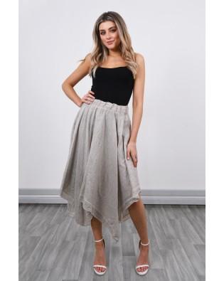 632 Linen Skirt